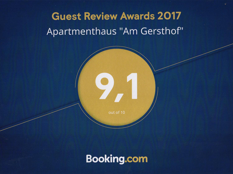 Booking Award 2017 - Preise und Buchung