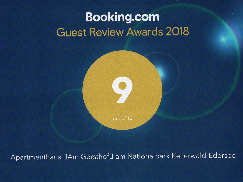 Booking Award 2018 - Preise und Buchung