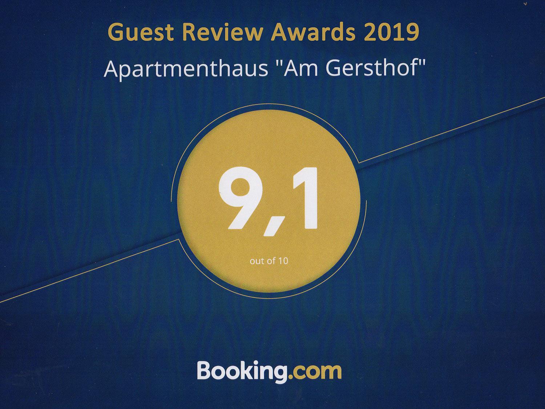 Booking Award 2019 - Preise und Buchung