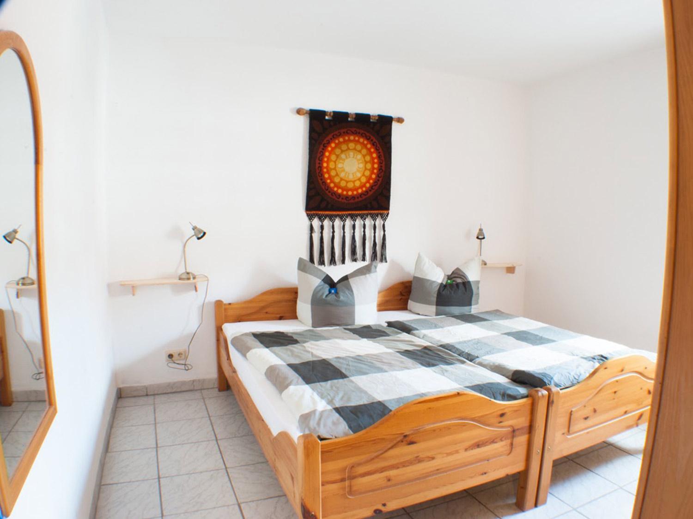 """buche schlafzimmer1 2 - Ferienwohnung """"Buche"""""""