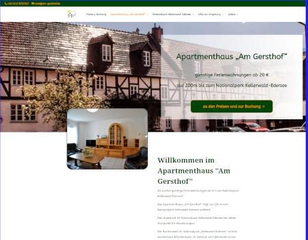 """am gersthof 1 - Digitale Gästemappe vom Apartmenthaus """"Am Gersthof"""""""