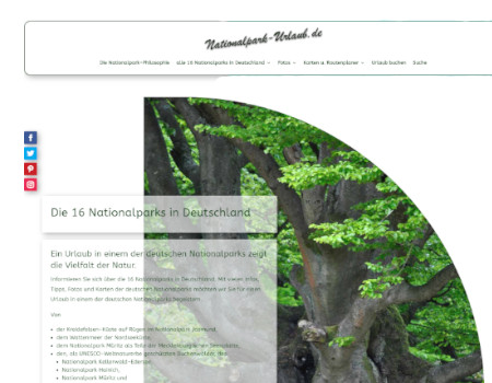 """nationalpark urlaub 450x350 - Digitale Gästemappe vom Apartmenthaus """"Am Gersthof"""""""